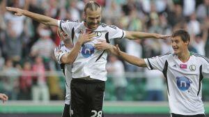 Legia wygrała [br]z mistrzem Polski 2:0