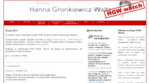HGW Watch się poddaje