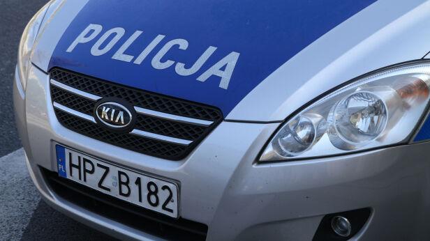 Policja zatrzymała dwóch mężczyzn  TVN24