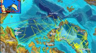 Projekt IceBridge: Antarktyda na mapie 3D