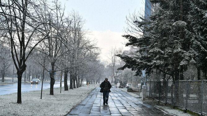 Pogoda na dziś: <br />w wielu regionach pojawi się śnieg