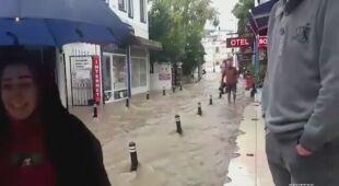 Powódź błyskawiczna w Turcji