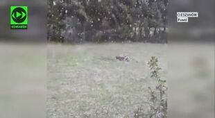 Śnieg na Podkarpaciu
