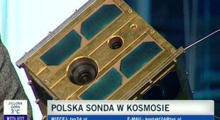 Polski satelita w kosmosie (TVN24)